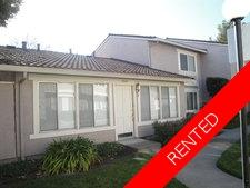 Pleasanton Townhouse for rent:  3 bedroom 1,220 sq.ft.
