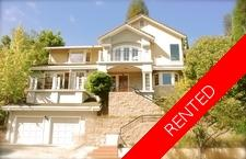 Rockridge  House for rent:  4 bedroom 2,600 sq.ft.